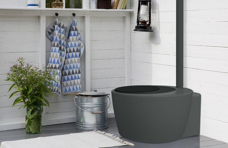 Дачный торфяной туалет Кеккила  Экоматик Трио 100 л