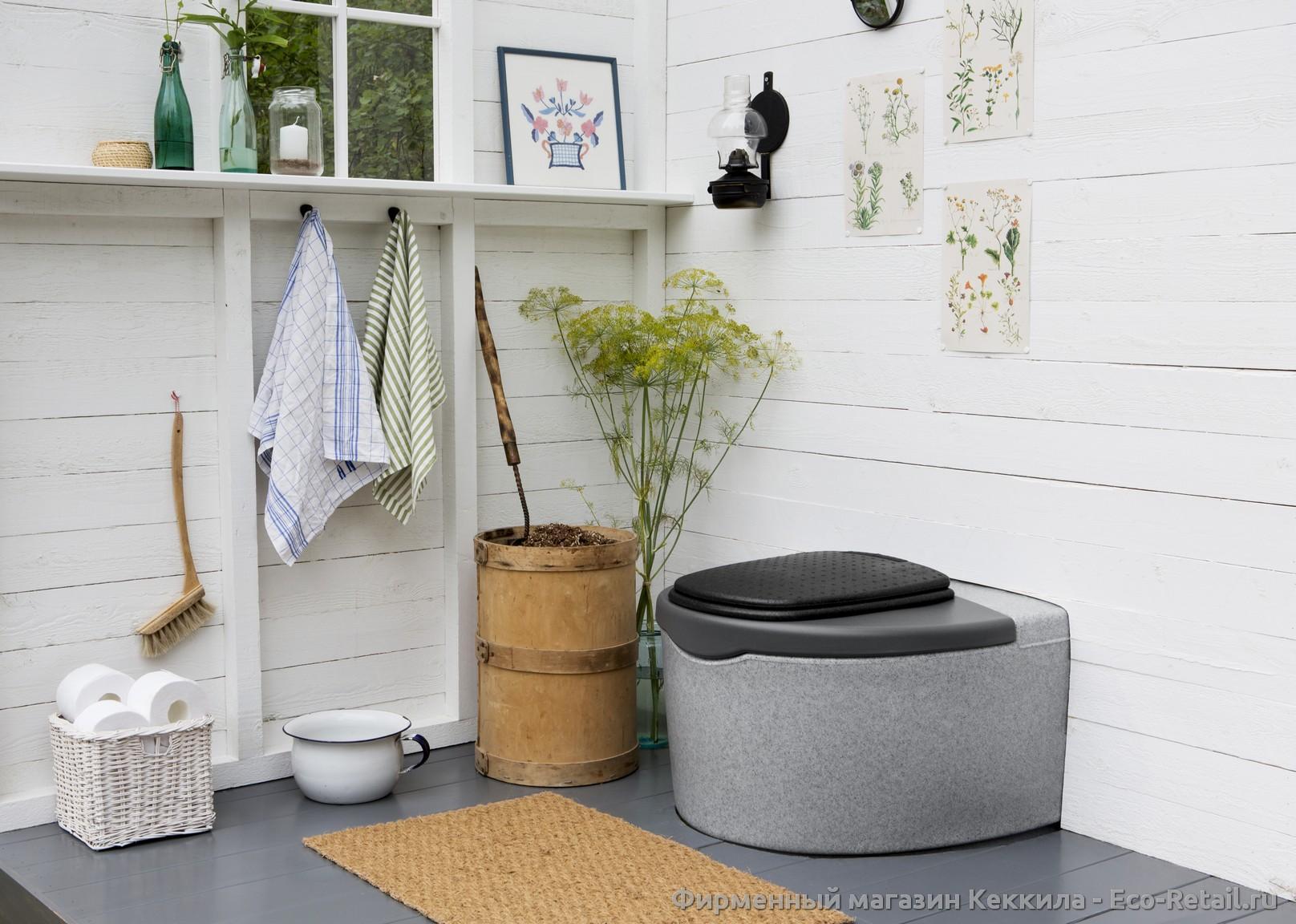 Кеккила Дуоматик — скидка на лучший финский торфяной туалет !